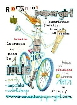 Romania papergirl